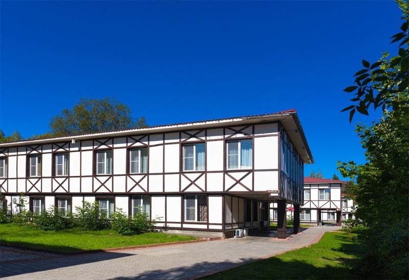Отель Гелиопарк Лесной | Территория, внешний вид