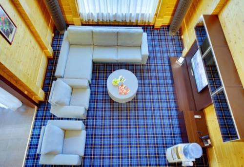 Лес Арт Резорт- Вилла 6-местная 2-этажная